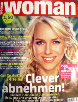Jens Karraß - Diät-Coach in Magazin Woman 2006