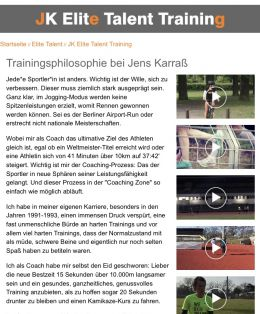 Personal Trainer in Berlin -. Jens Karraß